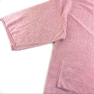 J. Jill Sweaters - Pure JJill Kimono Pink Sweater w/ Kangaroo Pocket